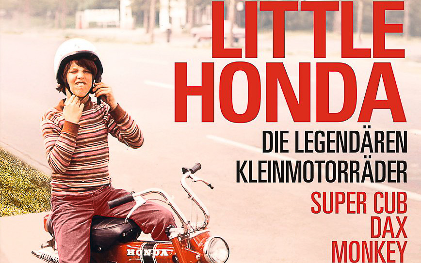 """Motorrad Buch """"Little Honda"""""""