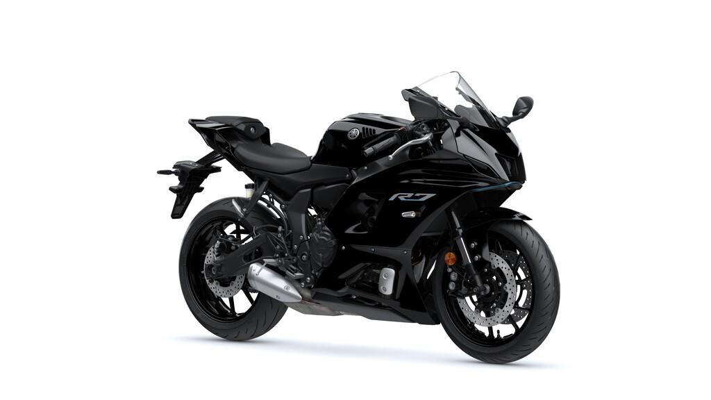 Zudem wird es die R7 auch in Yamaha Black geben