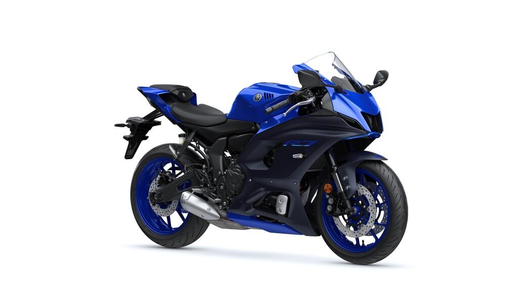 Eine von zwei Farben der Yamaha R7: Icon Blue