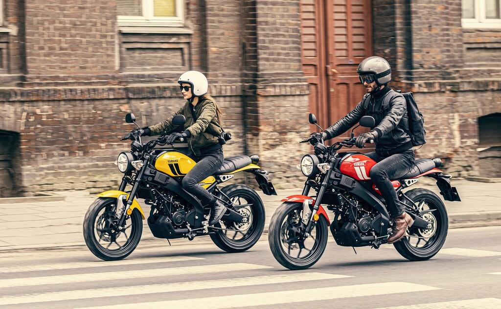 Die Yamaha XSR 125 ist ab Juni 2021 in drei Farben erhältlich