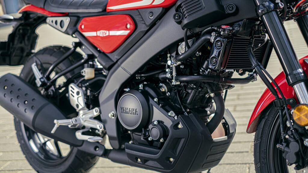 Der 125er Motor wird auch in der MT-125 verbaut