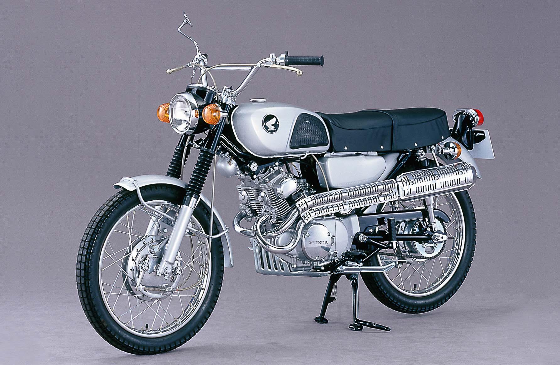 HONDA CL 125K (1967-1969)
