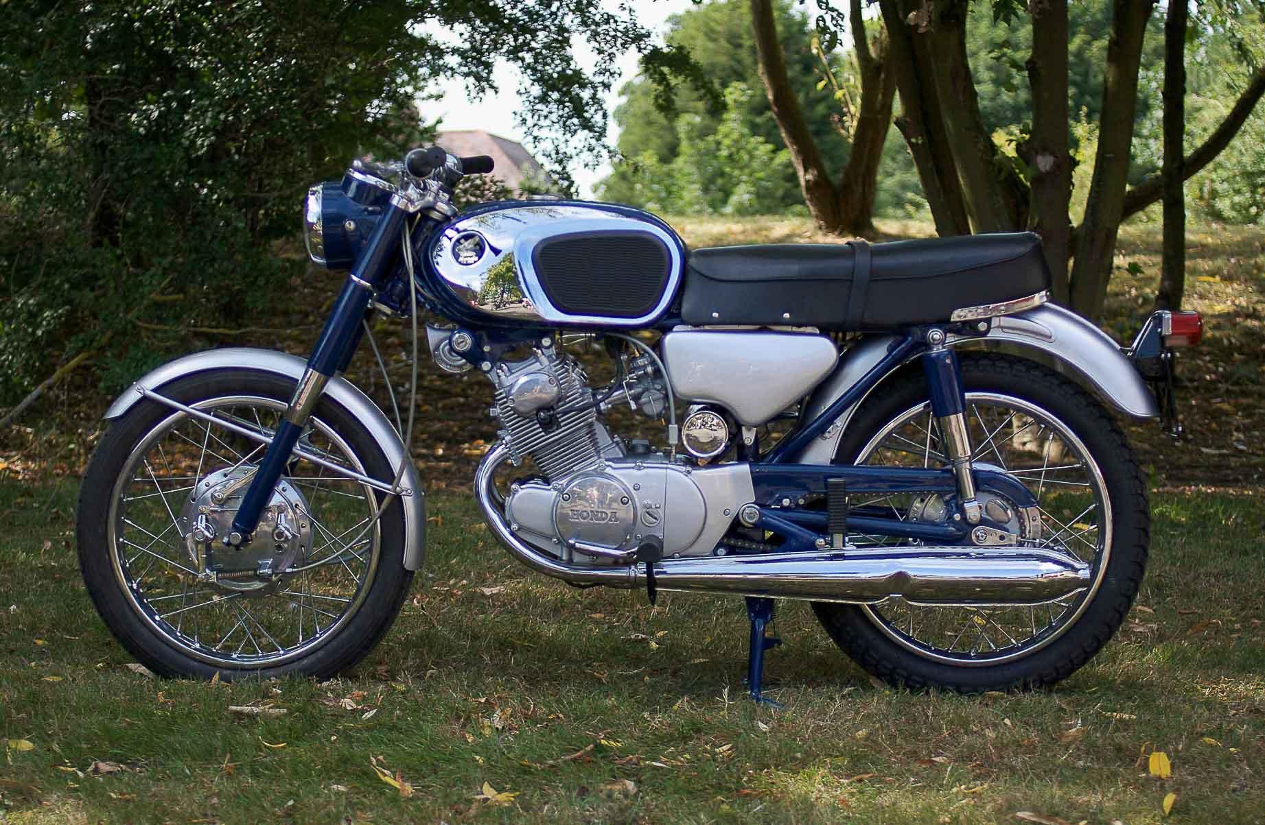 HONDA CB 160 (1964-1971)