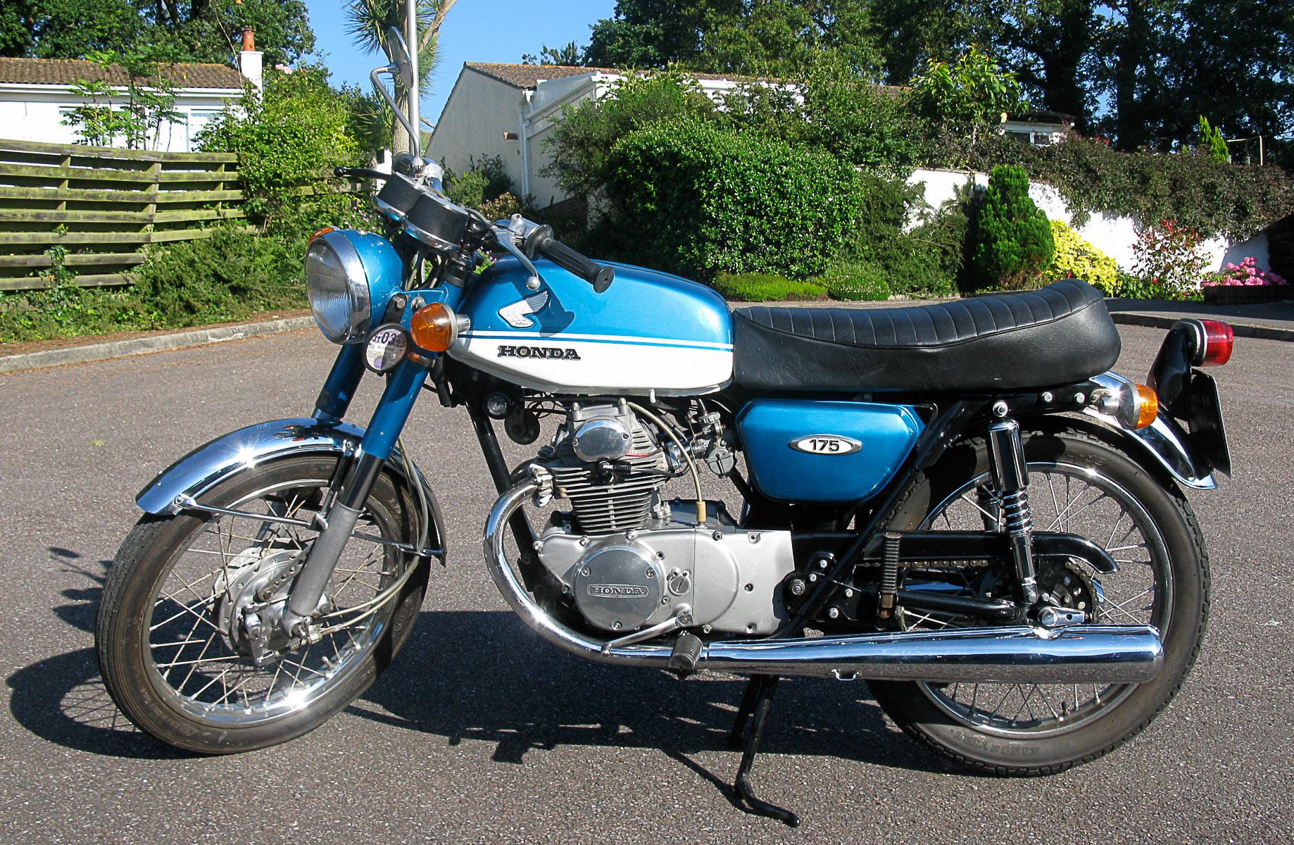 HONDA CB 175K (1969-1973)