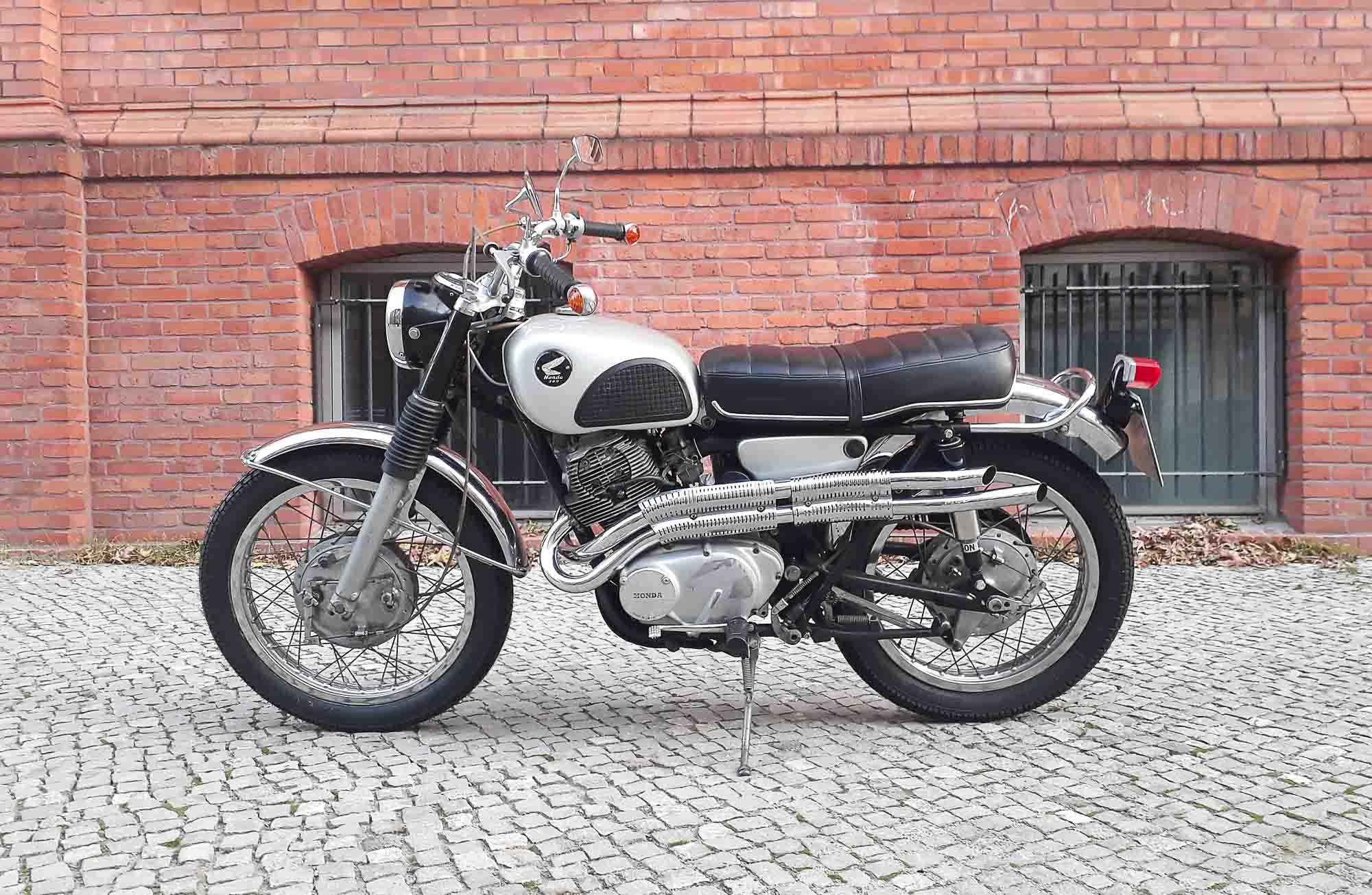 HONDA CL77 (1962-1965)