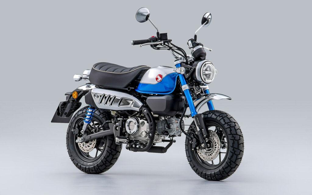 Für 2022 bekommt die Honda Monkey 125 einen neuen Motor