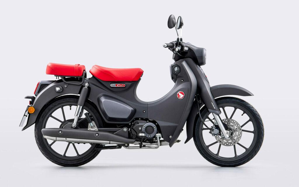 Geiz ist geil ist die Devise des neuen 125er Motors der neuen Honda Super Cub 2022