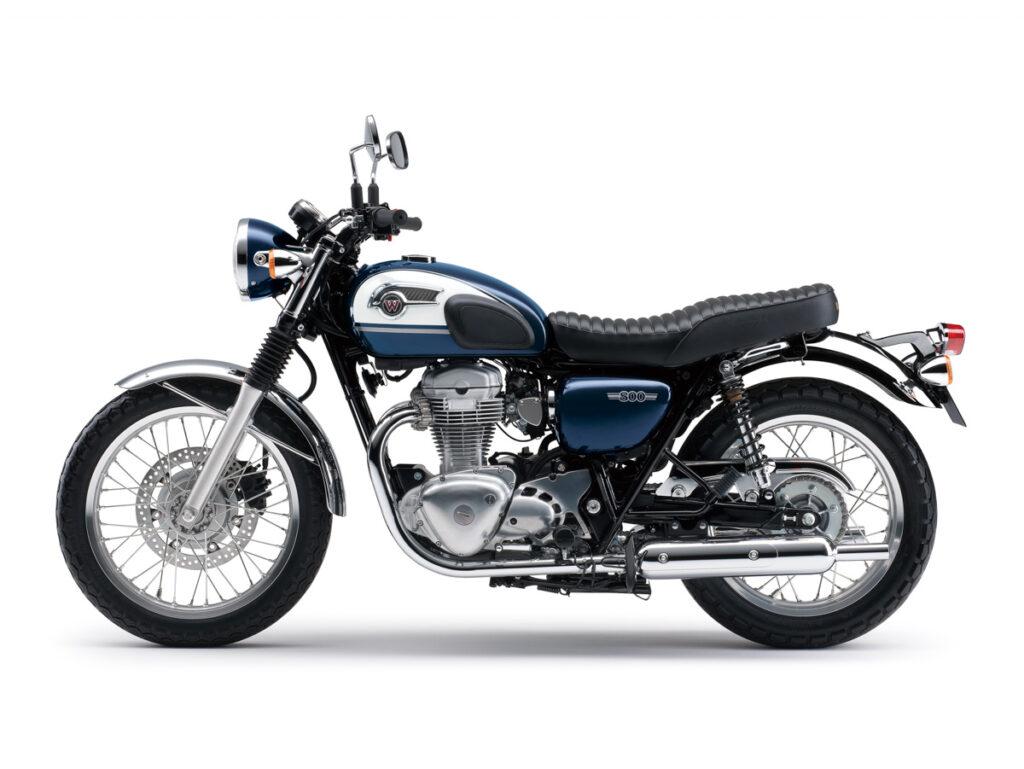Die Kawasaki W800 ersetzte die 650er
