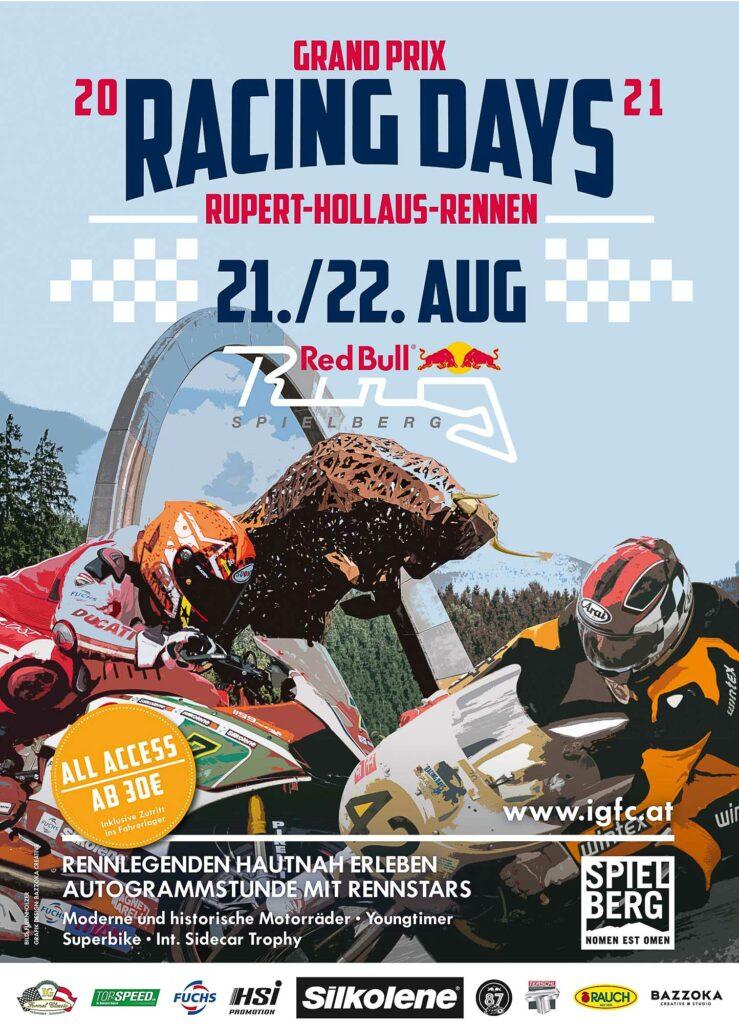 Rupert Hollaus Gedächtnisrennen vom 21. bis 22. August 2021