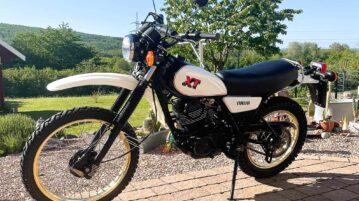 Yamaha XT 250 von 1981