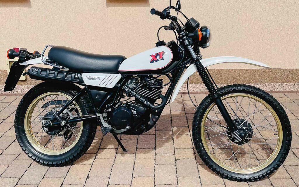 Die Yamaha XT 250 stand stets im Schatten ihrer großen Schwester