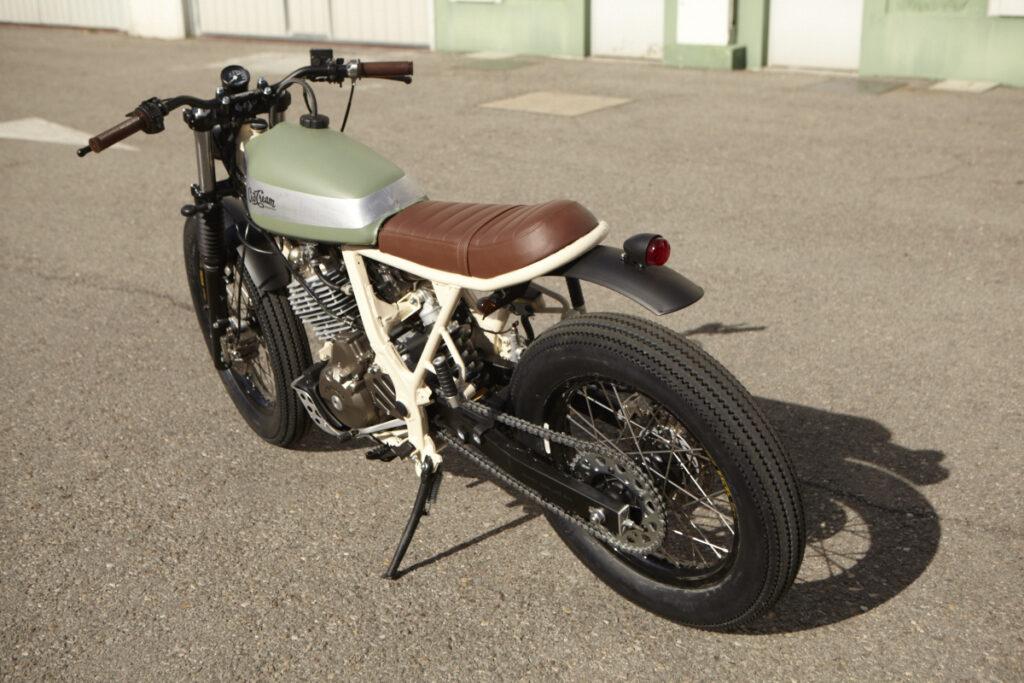 Dominator Umbau zum Custom Motorrad