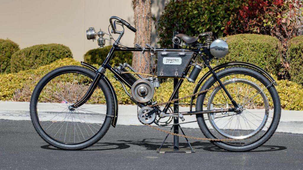 Erwartet Rekordgebot: Norton Energette aus dem Baujahr 1902