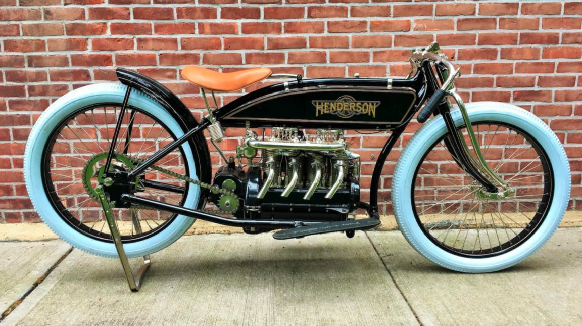 1917er Henderson 4-Cylinder Racer.