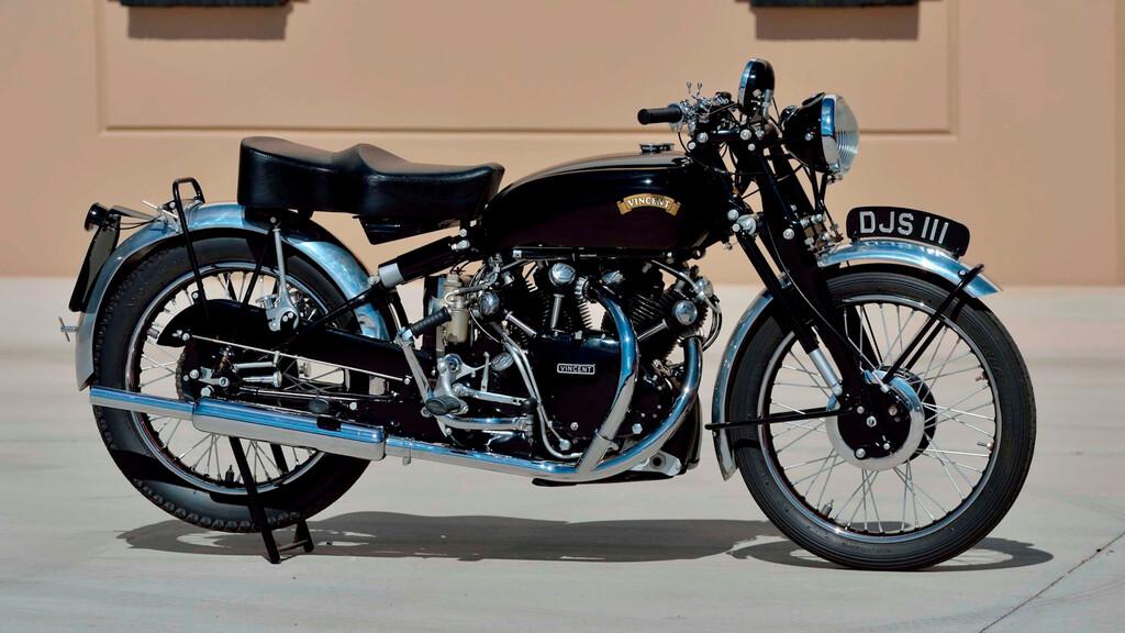 Die Vincent HRD Series A Twin aus dem Jahr 1938 dürfte Spitzenpreise erzielen