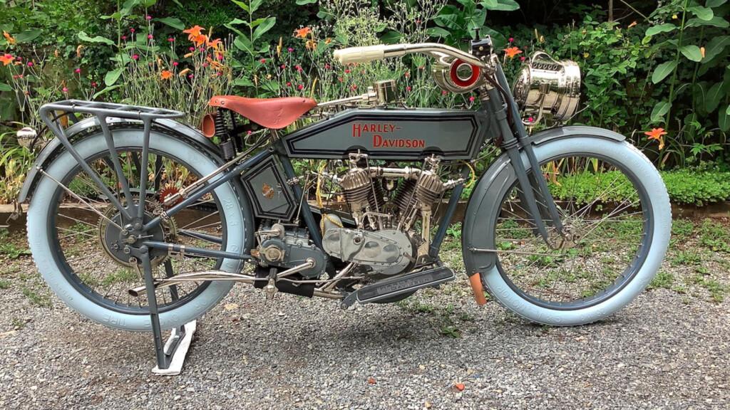 Harley Davidson, das Modell F von 1915