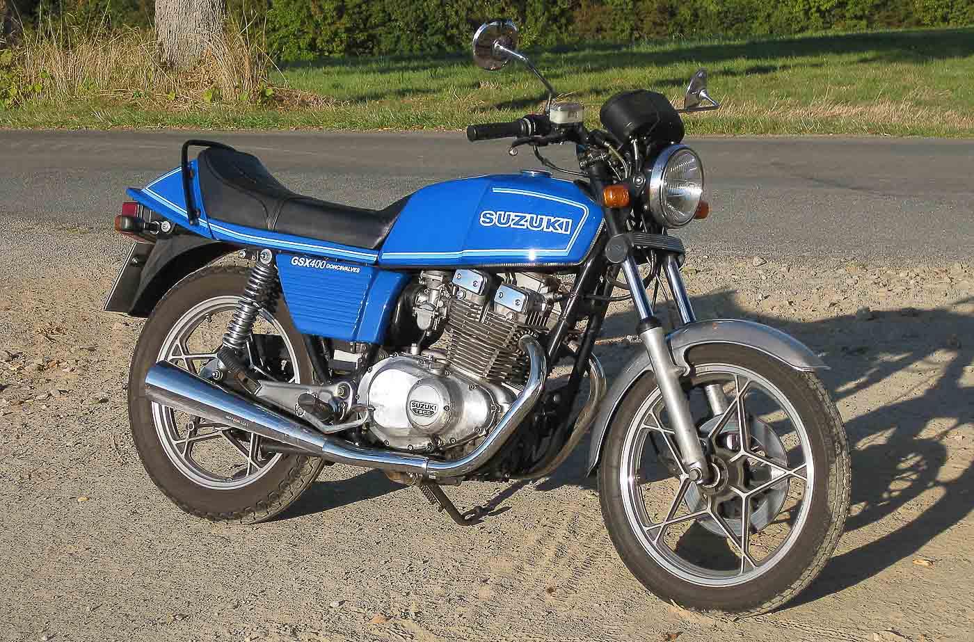 SUZUKI GSX 400 (1980 - 1982)