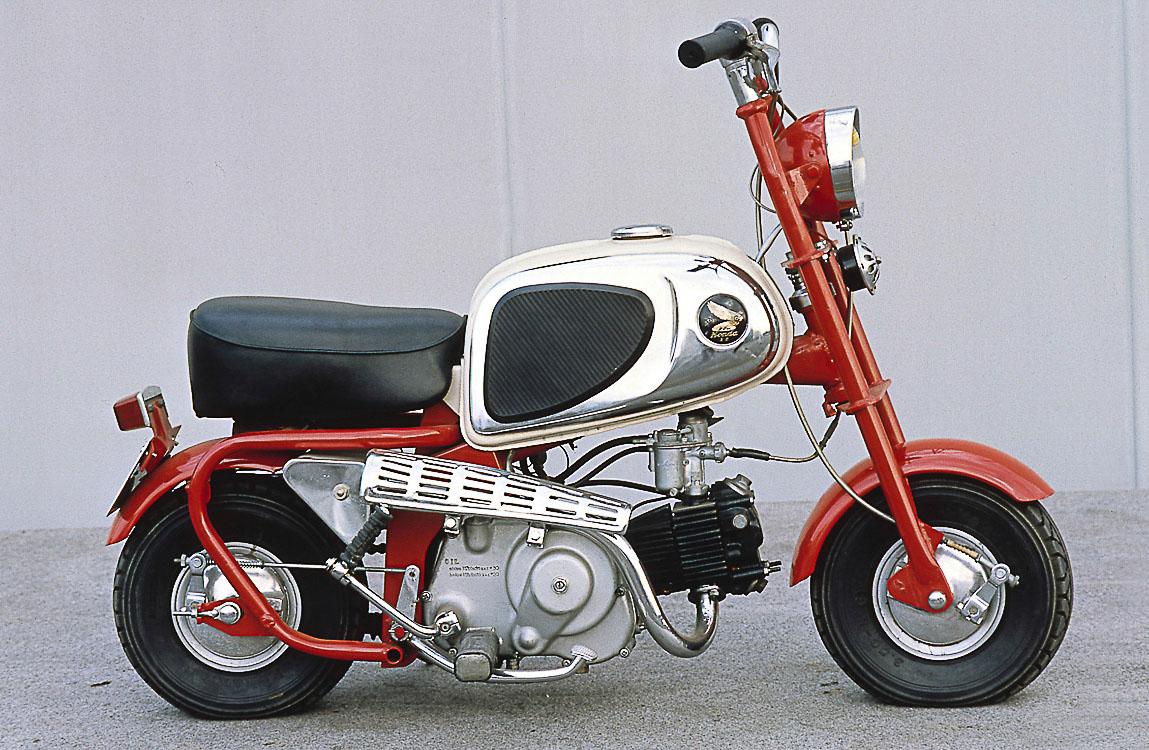 Honda Monkey CZ 100 von 1963
