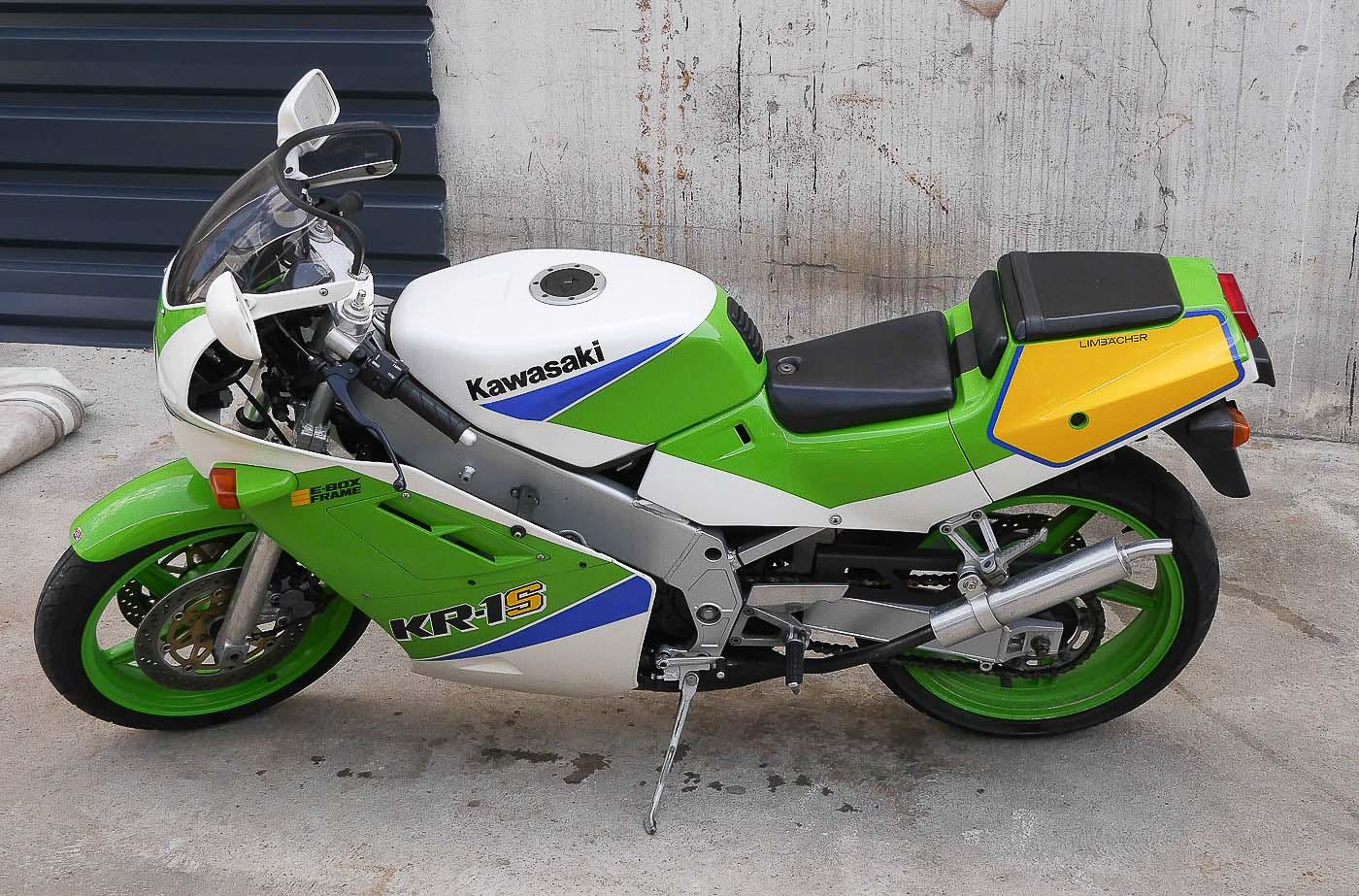 KAWASAKI KR1 (1984-1992)