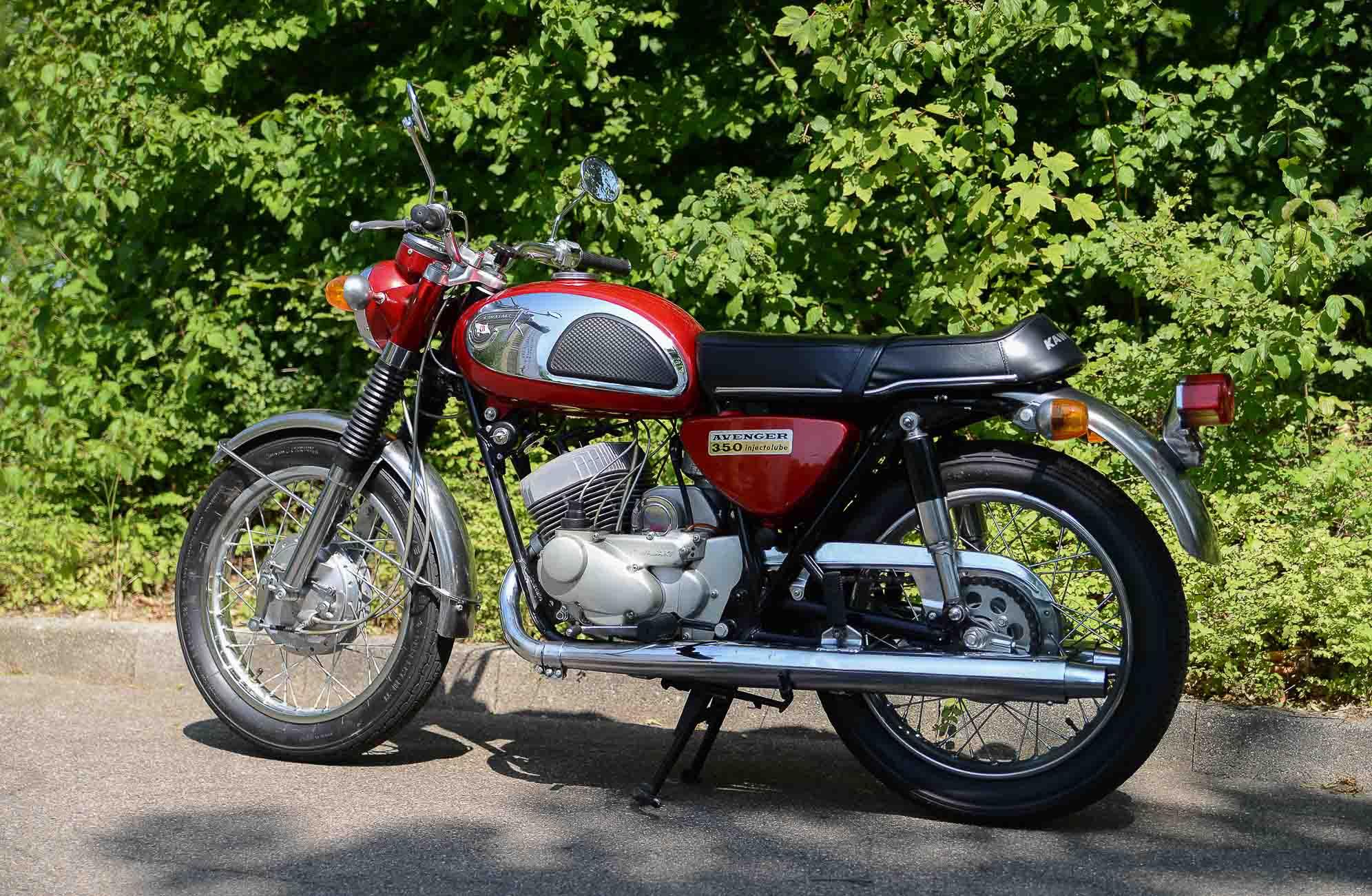 KAWASAKI 350 A7 (1967-1971)