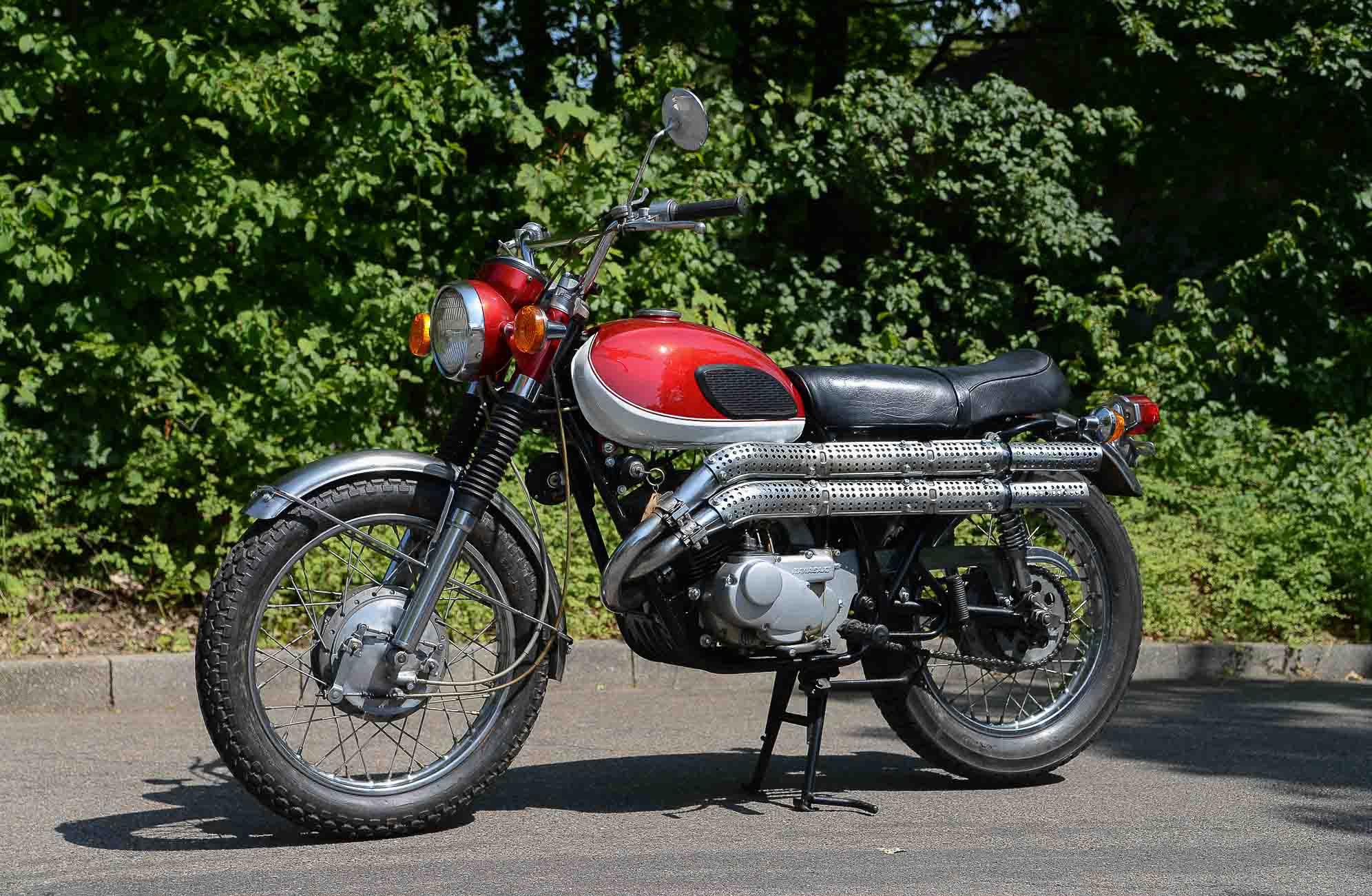 KAWASAKI 250 A1 (1966-1971)