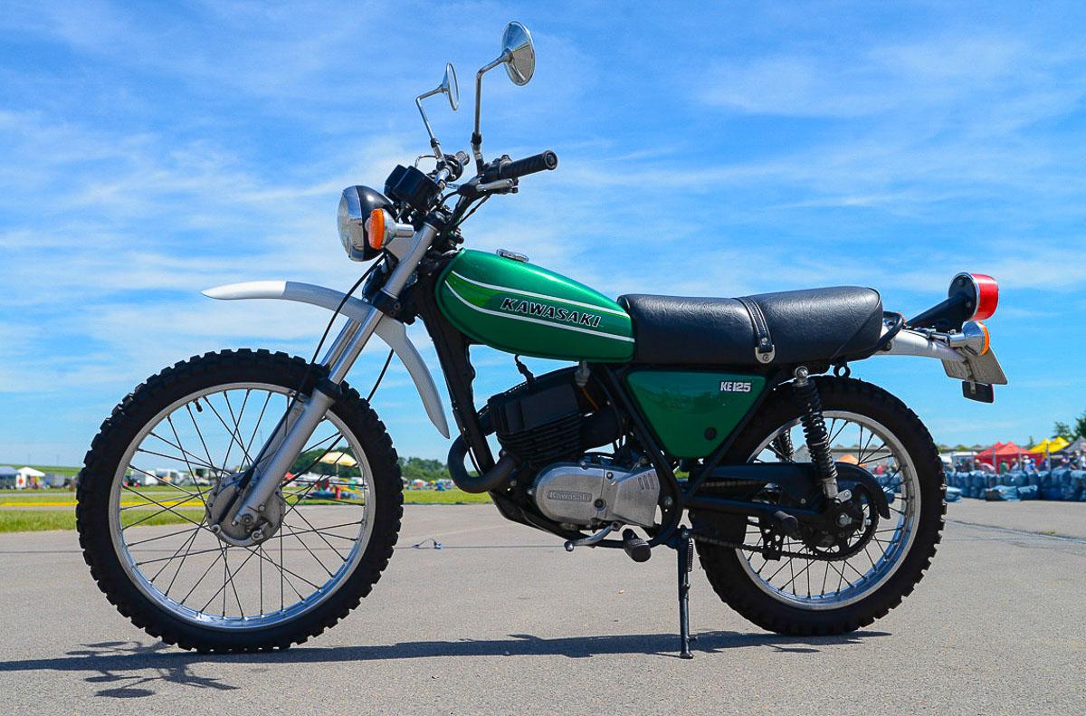 KAWASAKI KE 125 (1976-1985)