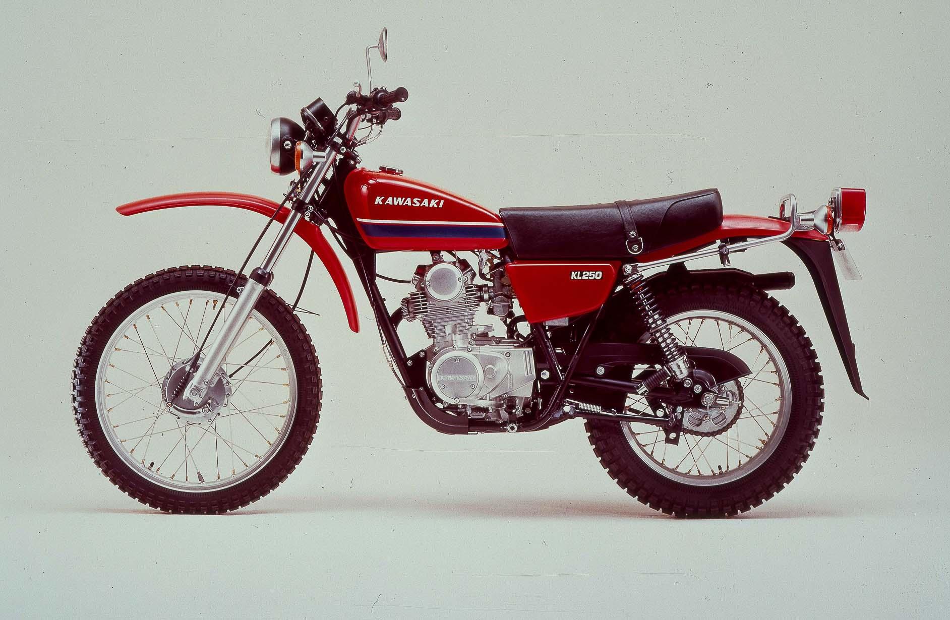 KAWASAKI KL 250 (1977-1984)