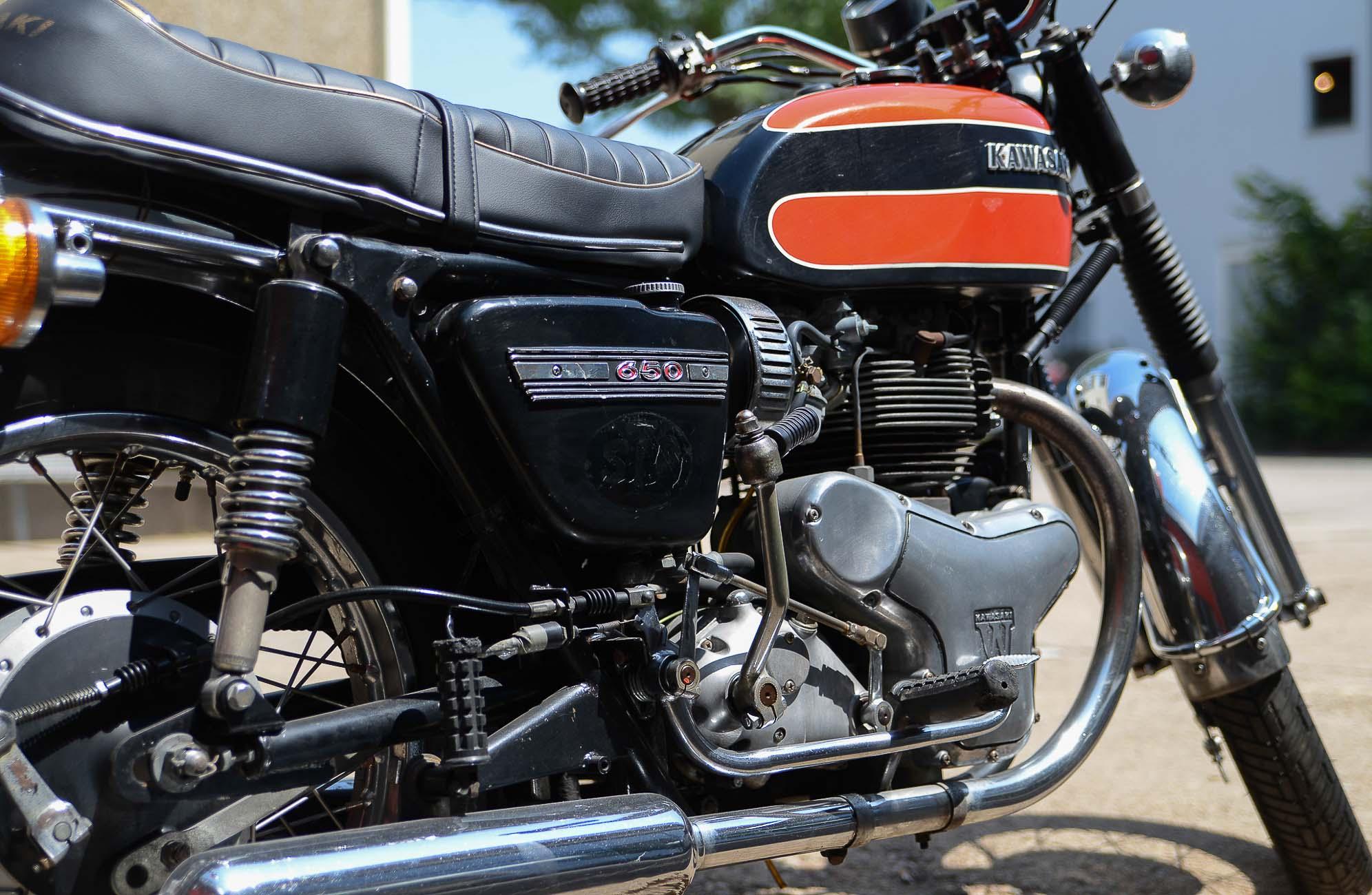 KAWASAKI 650 W1 (1966-1974)
