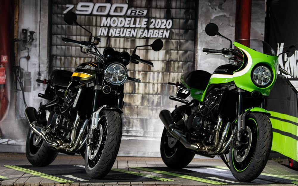 Neue Farben für die Kawasaki Z 900 RS ab 2020