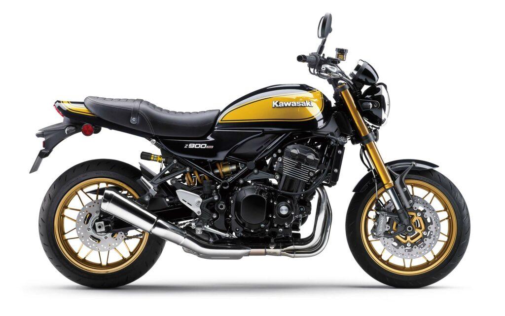 Die Kawasaki Z900RS SE ist ab Februar 2022 erhältlich