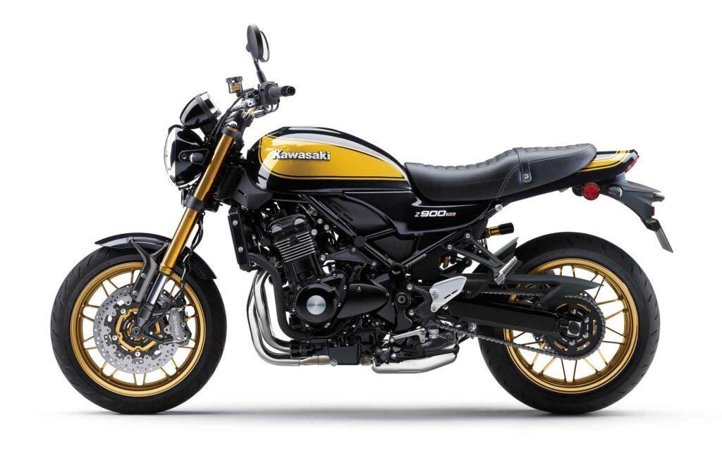 "Kawasaki nennt die Lackierung der Z900RS SE ""Metallic Diablo Black"""