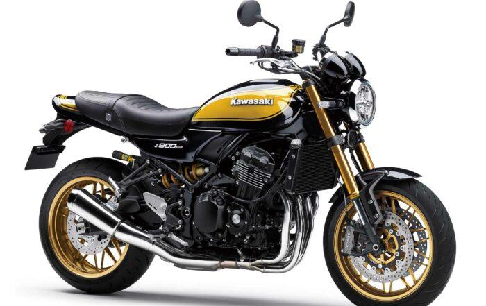 Die neue Kawasaki Z900RS SE im Modelljahr 2022