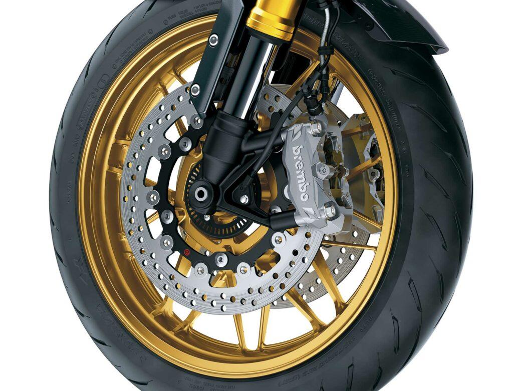 Das SE-Modell hat eine Brembo Bremsanlage