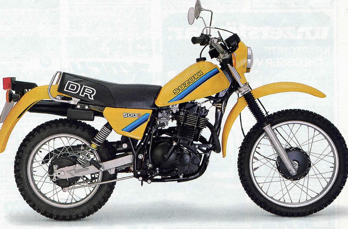 SUZUKI DR 500 (1981-1984)