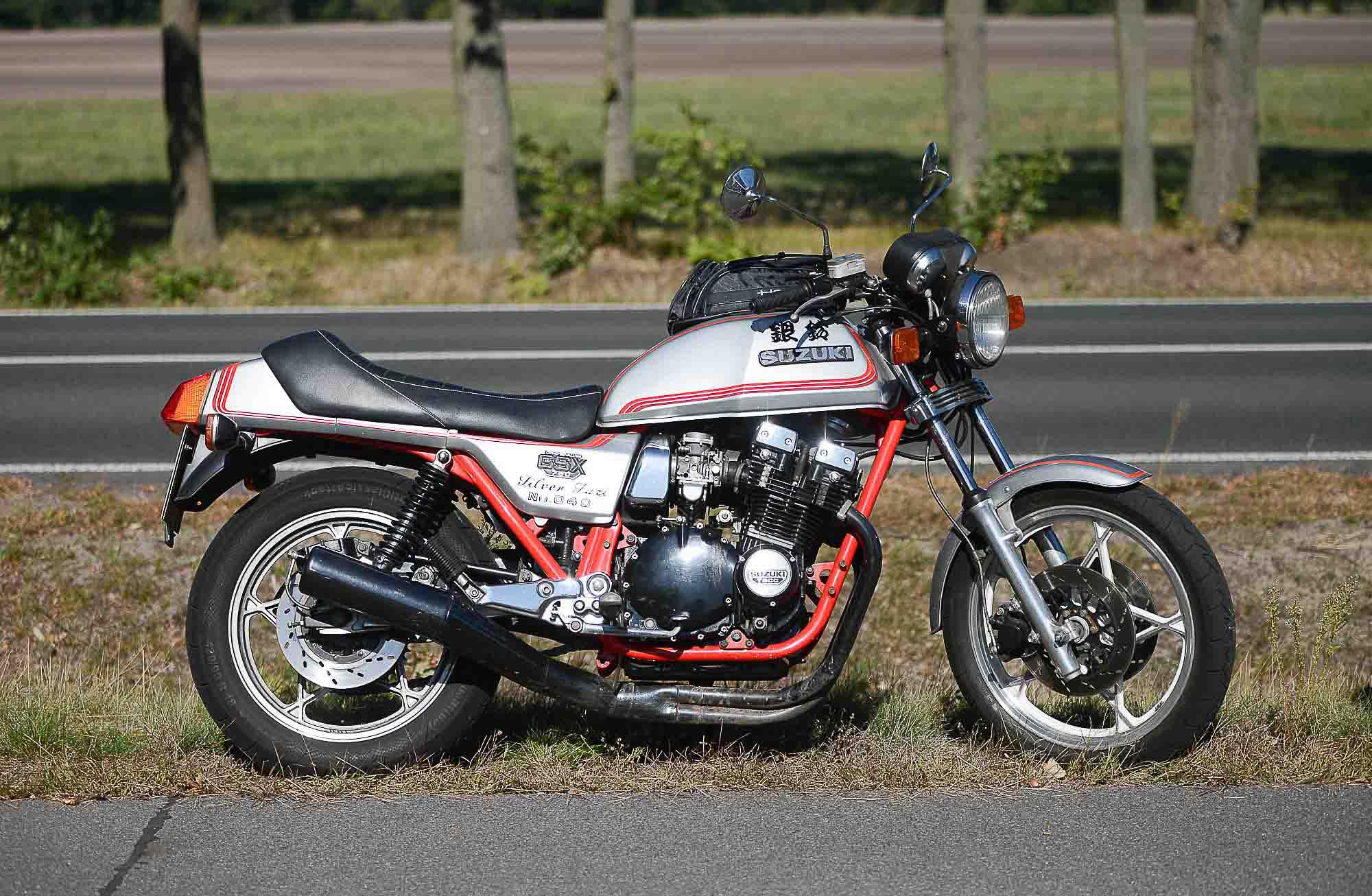 """SUZUKI GSX 750 E """"SILVER SUZI"""""""