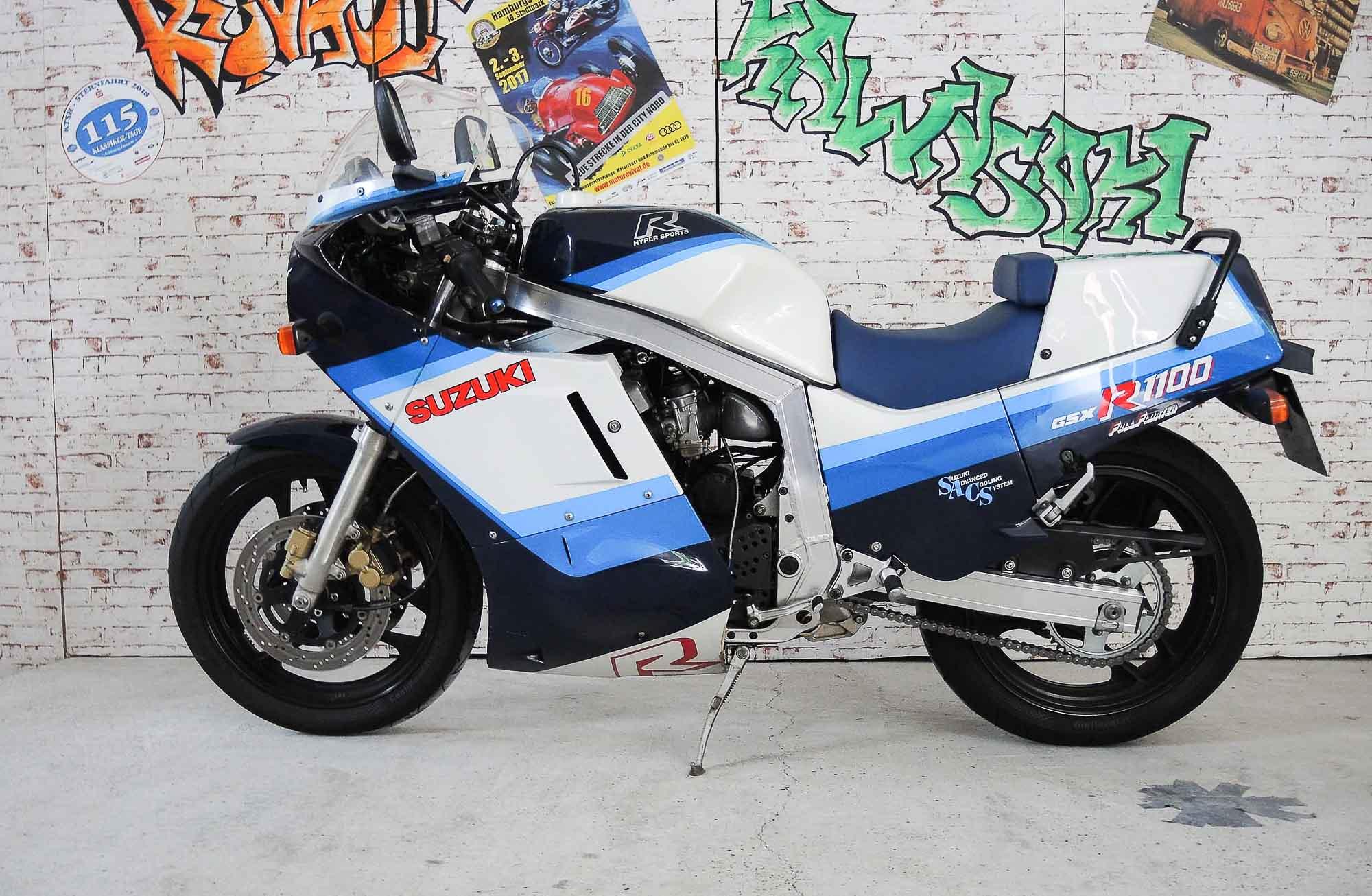 SUZUKI GSX-R 1100 (1985 - 1996)