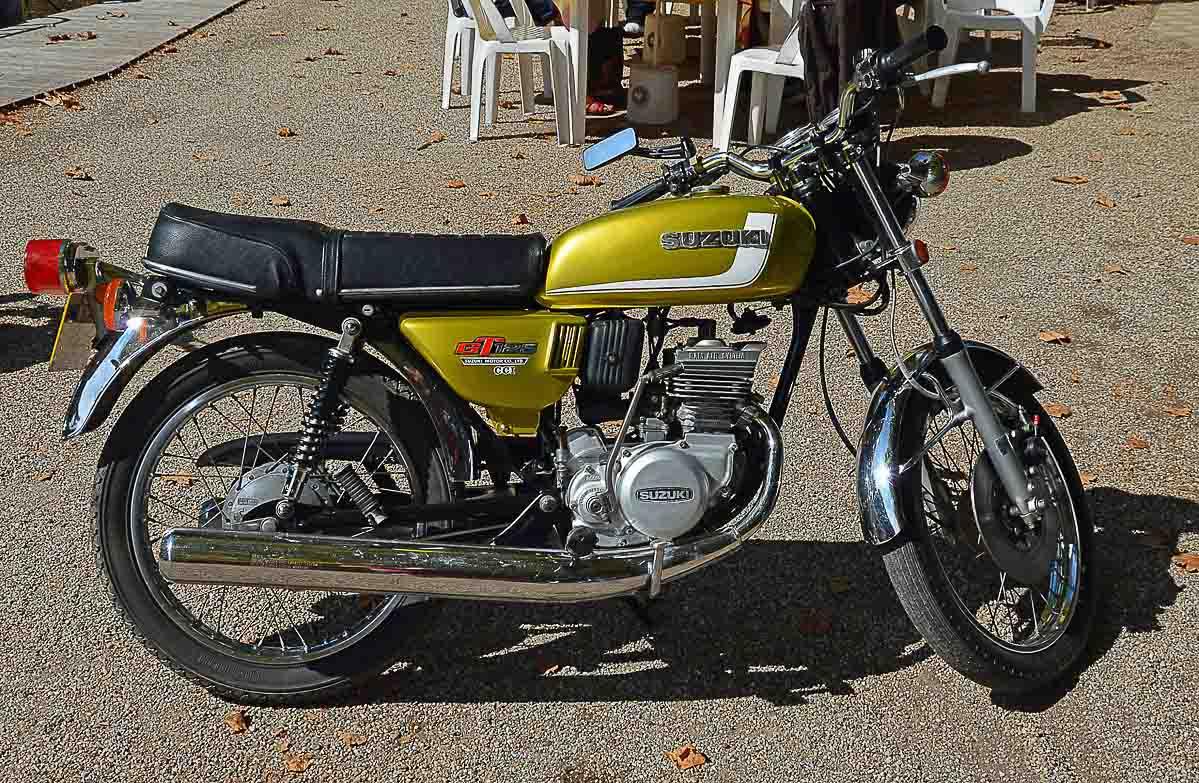 SUZUKI GT 125 (1974 - 1978)
