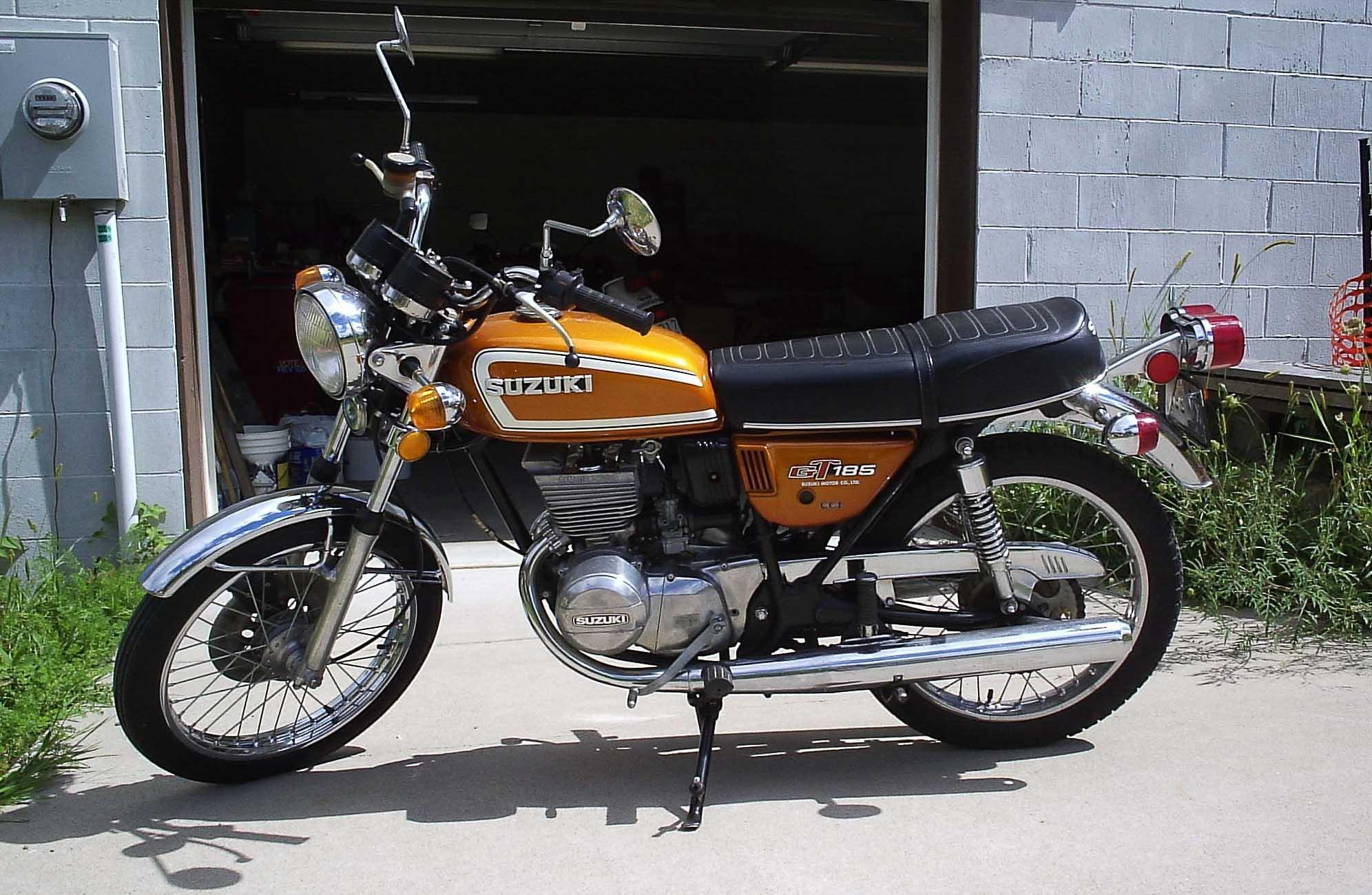 SUZUKI GT 185 (1973 - 1978)