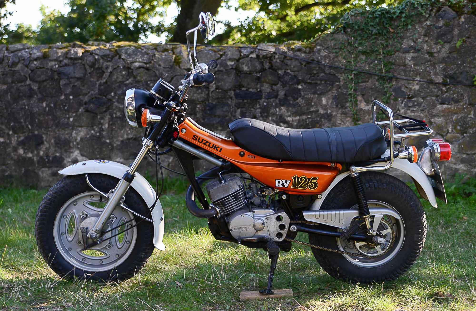 SUZUKI RV 125 (1977-1981)