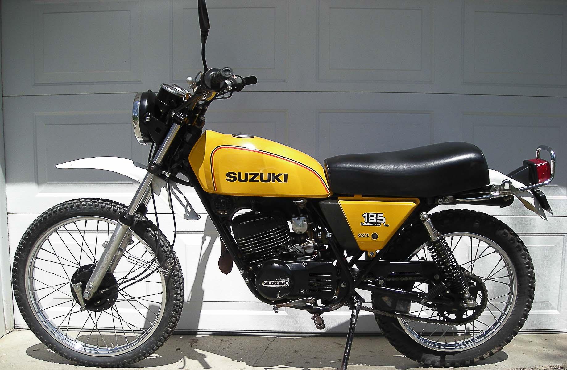 SUZUKI TS 185 (1971 - 1977)