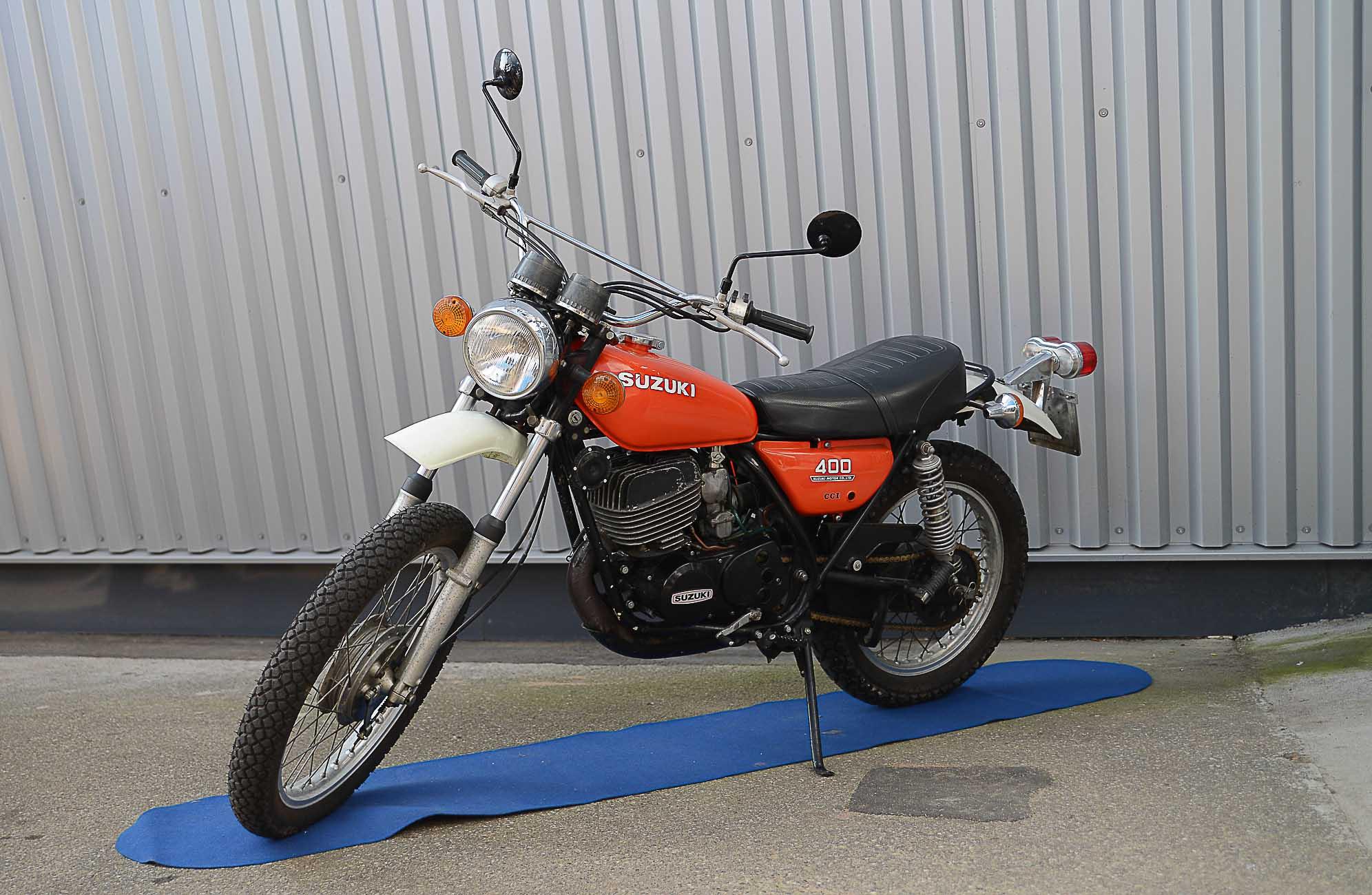 SUZUKI TS 400 (1972 - 1977)