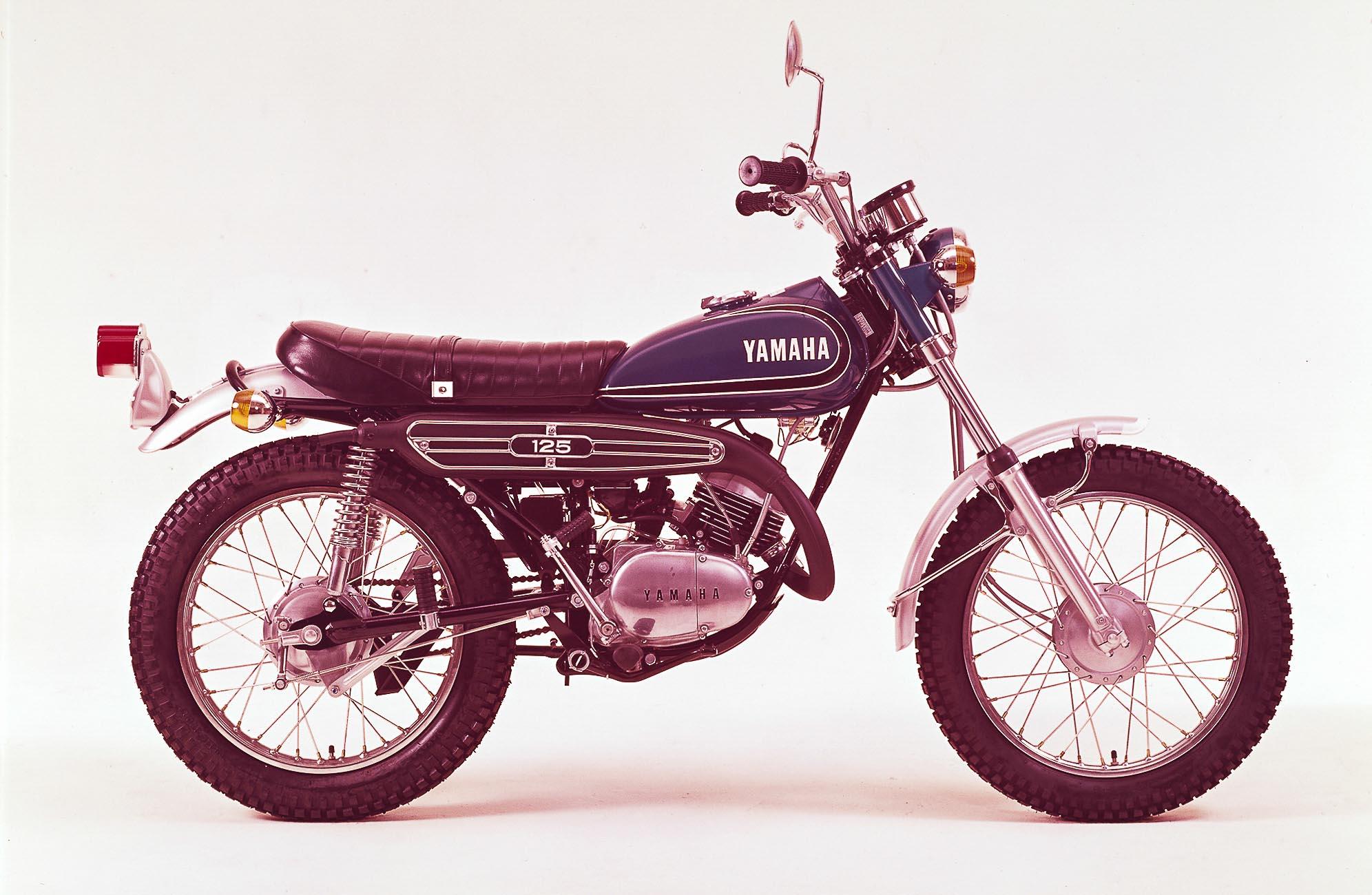 YAMAHA AT 125 (1969 - 1972)