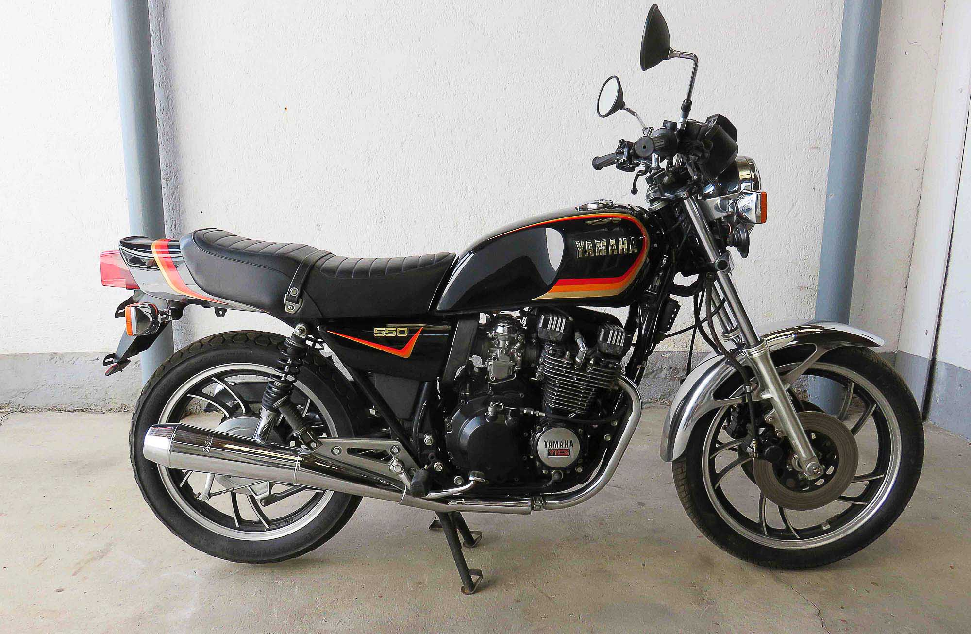 YAMAHA XJ 550 (1981 - 1984)