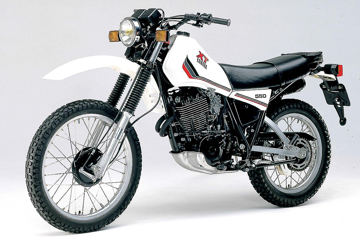 YAMAHA XT 550 (1982 - 1984)