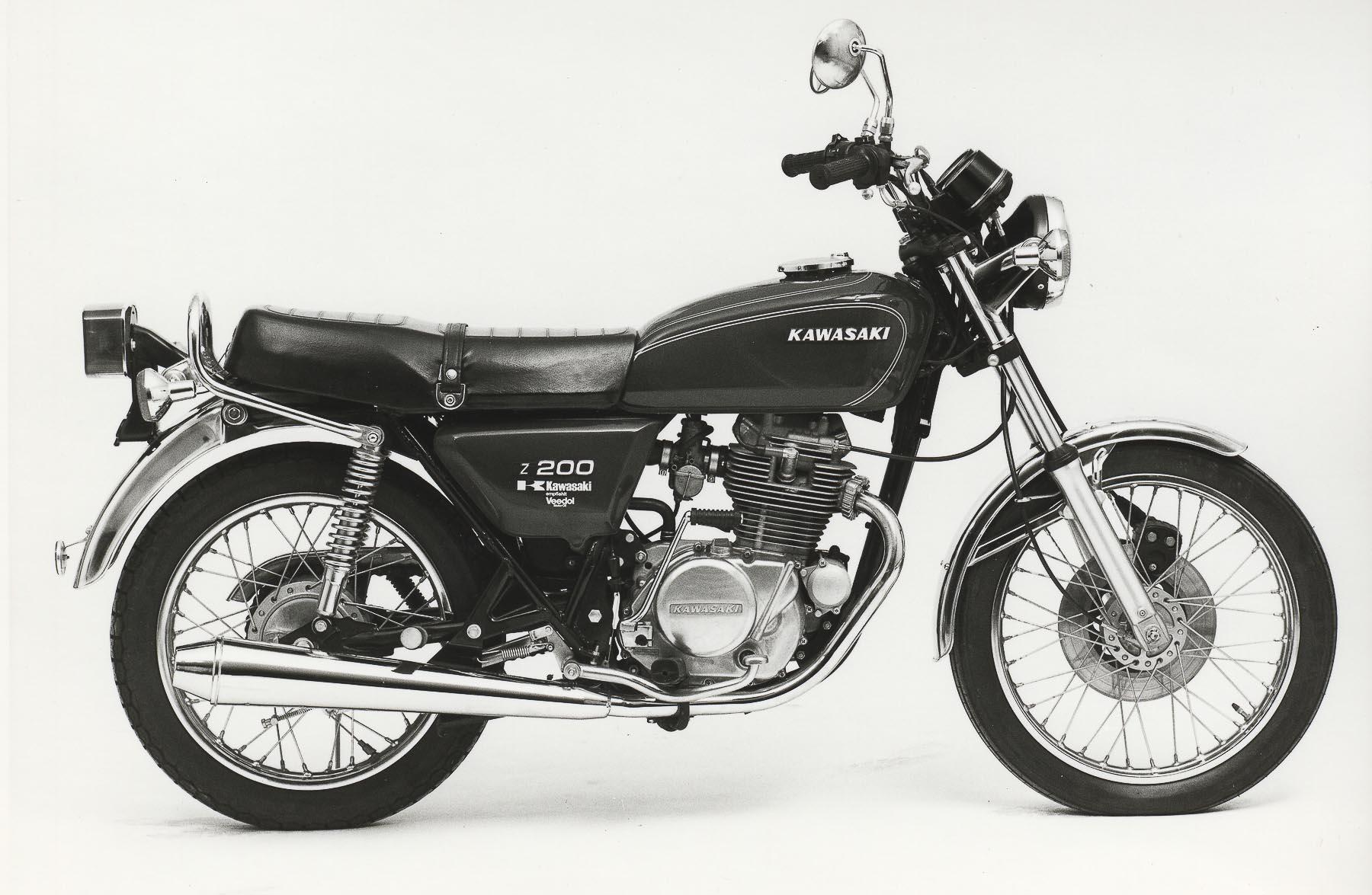 KAWASAKI Z 200 (1976-1979)