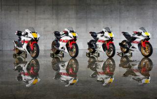 """""""World GP 60th Anniversary""""-Lackierung für die 2022er Modelle von R1, R7, R3 und R125"""