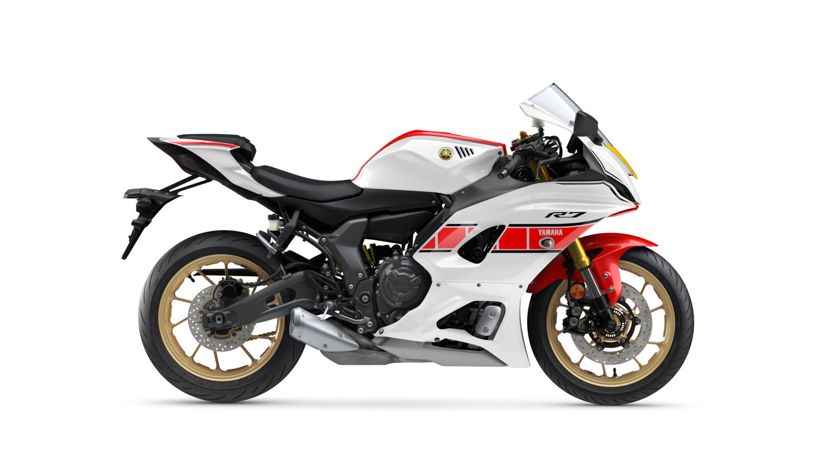 "Die 2022er Yamaha YZF-R 7 im ""World GP 60th Anniversary""-Look"