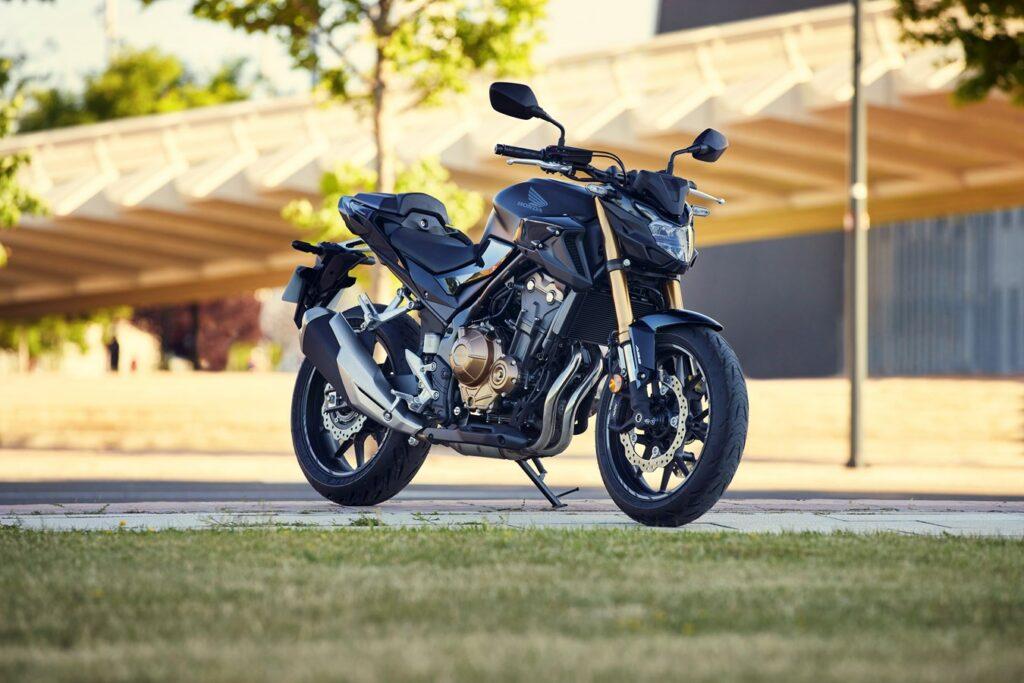 Auch die Honda CB500F bekommt die Modellpflege für den Jahrgang 2022