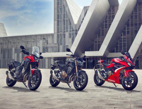 Modellpflege: Honda CBR500R und CB500F im Jahrgang 2022