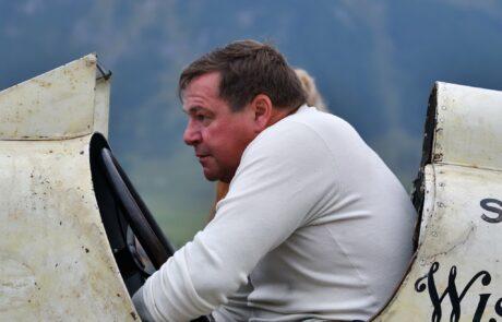 In St. Moritz gab es Motorsport-Geschichte hautnah zu erleben